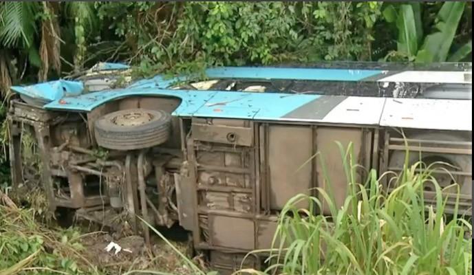PA: Morre o motorista da Real Maia após acidente na BR-316 entre Santa Maria e Capanema