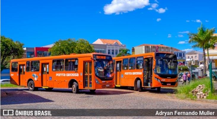 PR: Ponta Grossa quer 100% da frota de ônibus circulando para evitar aglomerações