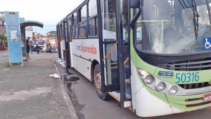 Goiânia: Idoso é atropelado por ônibus e tem fratura em uma das penas no Jardim da Luz