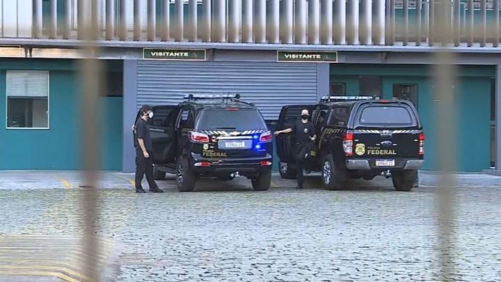 Polícia Federal faz buscas em endereços da Viação Saritur nesta sexta-feira em Belo Horizonte