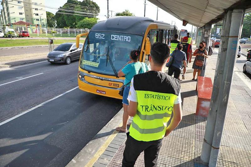 Manaus: Prefeitura monitora circulação de ônibus para garantir reforço na frota