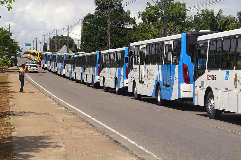 Manaus anuncia renovação de 42 novos ônibus nesta quinta-feira