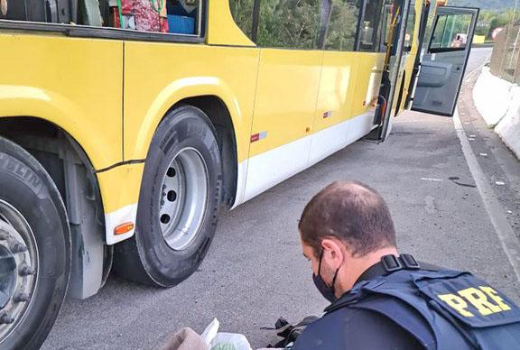 SP: Passageiro de ônibus é preso transportando entorpecentes em ônibus que seguia para São Paulo