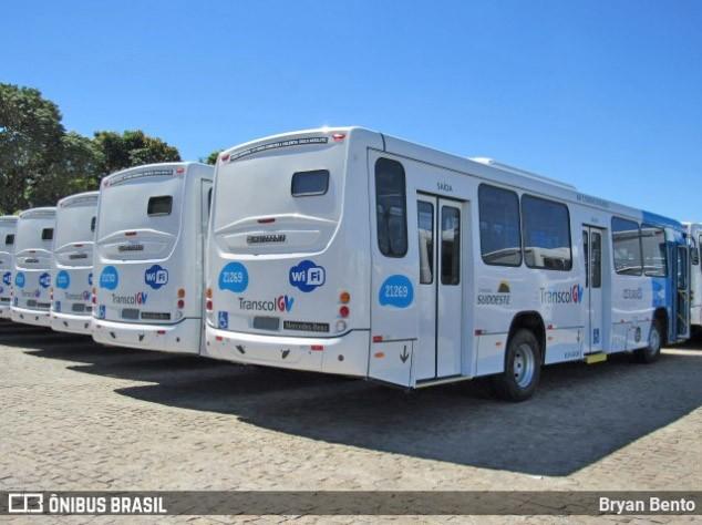 Grande Vitória amanhece sem ônibus devido protesto de rodoviários