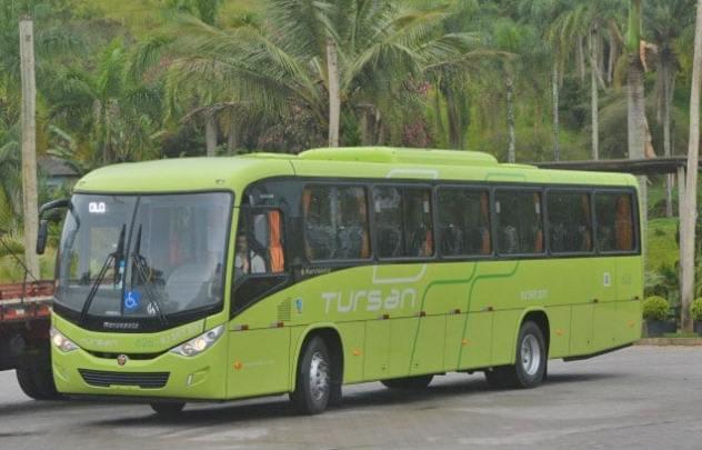 Tursan renova frota com 100 novos ônibus Marcopolo Ideale 800