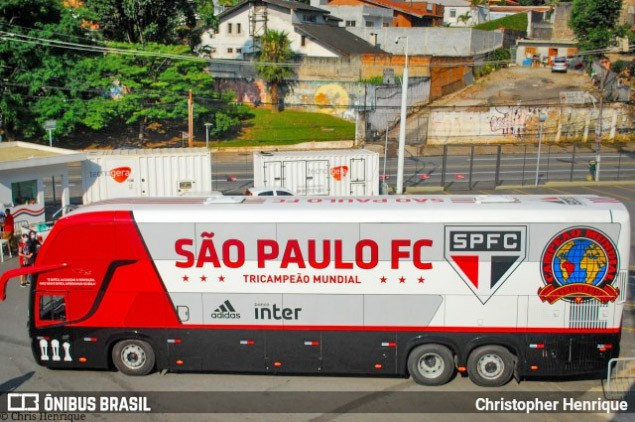 Ônibus do São Paulo FC passa por manutenção e já está disponível para viagens e deslocamentos