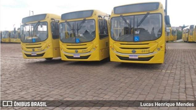 PR: Guarapuava libera a circulação de ônibus nos finais de semana