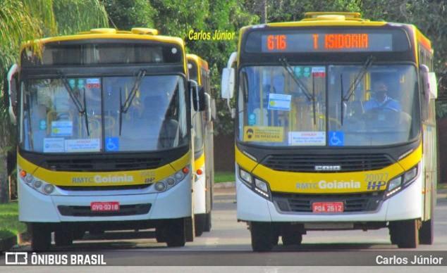 Goiânia: Rodoviários anunciam greve de ônibus por não receberem vacina contra a Covid-19