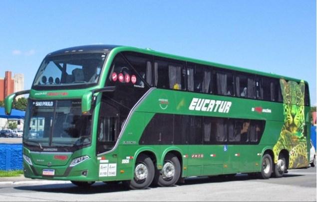 Eucatur oferece 15% de desconto na linha Guaíra x Florianópolis