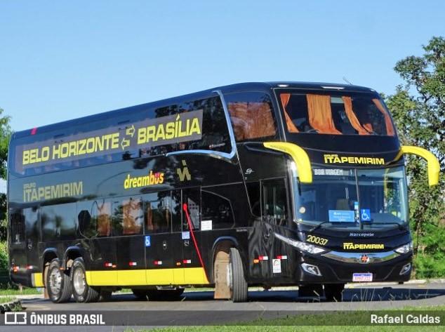 Viação Itapemirim oferece serviço Cama por R$ 99,99 na linha Brasília x Belo Horizonte