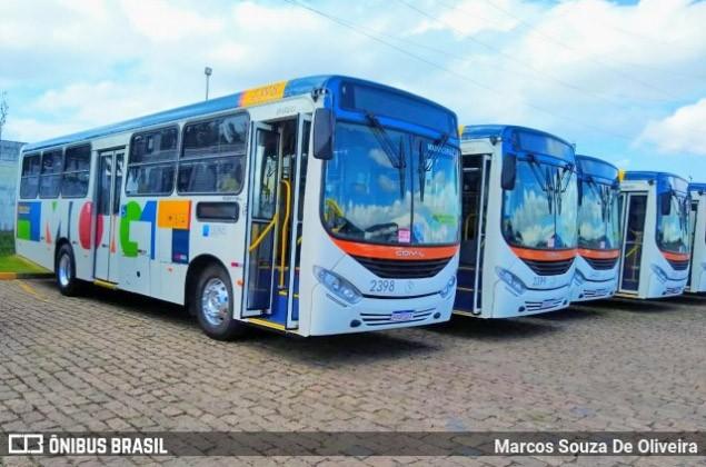 SP: Mogi das Cruzes apresenta nova frota de ônibus municipal
