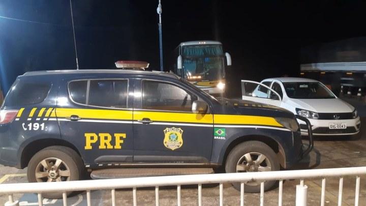 MG: PRF apreende homem por importunação sexual em ônibus da Viação Nacional na BR-040