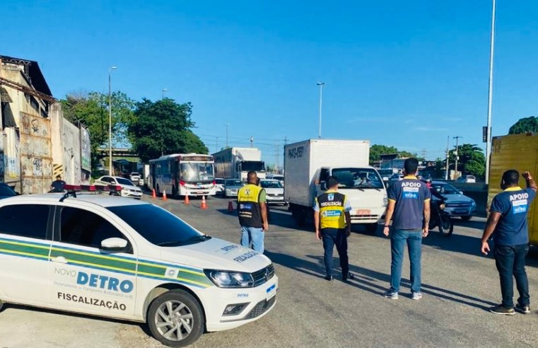 Vídeo: Detro/RJ atua em barreiras sanitárias no último dia de operação antes da Semana Santa