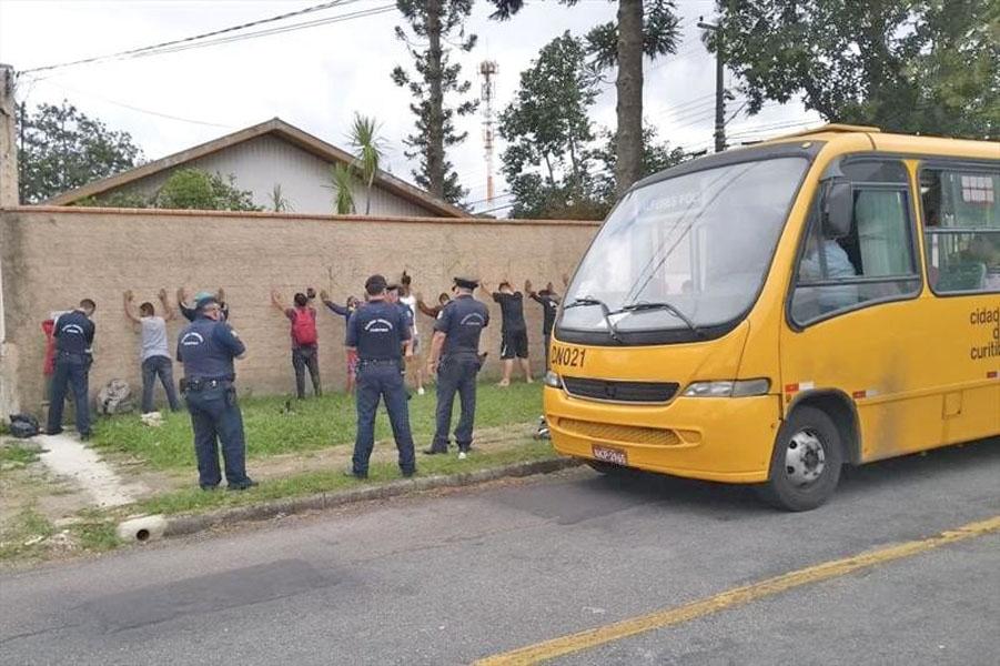 Curitiba: Guarda Municipal deflagra operação no transporte coletivo