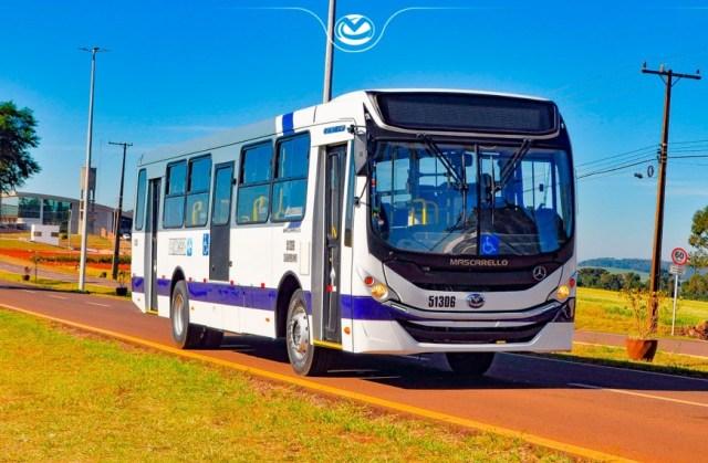 Princesa do Norte renova frota urbana com 10 novos ônibus Mascarello Gran Via OF-1519 - revistadoonibus