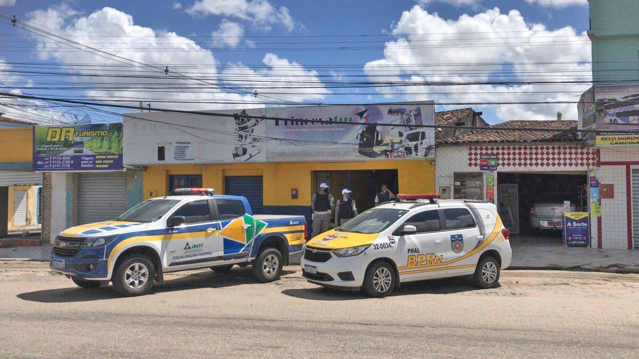 AL: ANTT realiza operação de combate ao transporte clandestino em Arapiraca
