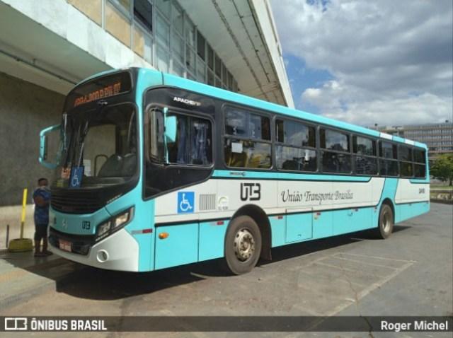 União Transporte Brasília - UTB renova com 20 novos ônibus Apache Vip IV - revistadoonibus