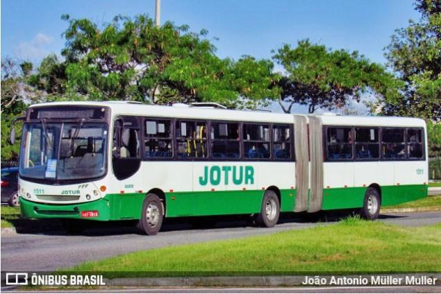 SC: Jotur passa a operar com até 70% da ocupação dos ônibus