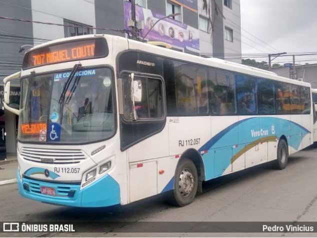 Rio: Ônibus da Auto Viação Vera Cruz se envolvem em acidentes em menos de 24 horas