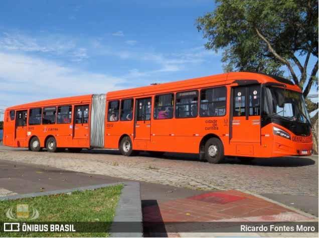Curitiba: Ônibus circulam com no máximo 50% de ocupação de passageiros diz Prefeitura