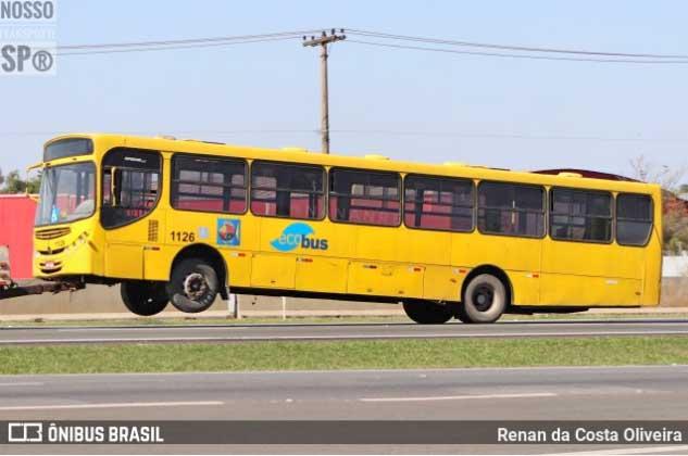 SP: Ônibus da Ecobus são apreendidos em São Sebastião