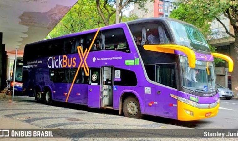 ClickBus X oferece passagem por R$ 39,90 no trecho Rio x Belo Horizonte