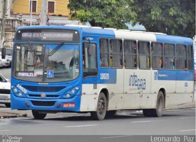 Vídeo: Acidente entre ônibus e micro-ônibus deixa 17 feridos em Salvador nesta manhã - revistadoonibus