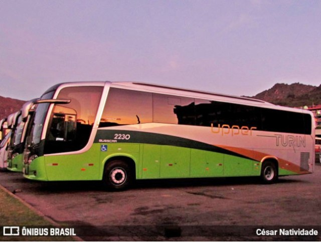 Turin Transporte renova frota com Busscar Vissta Buss 360 Mercedes-Benz - revistadoonibus