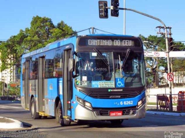 São Paulo: Bandidos incendiam ônibus na Zona Sul após furtarem caixas eletrônicos - revistadoonibus