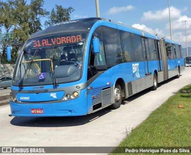 Rio: Intervenção no sistema BRT completa primeiro mês com avanços diz prefeitura - revistadoonibus