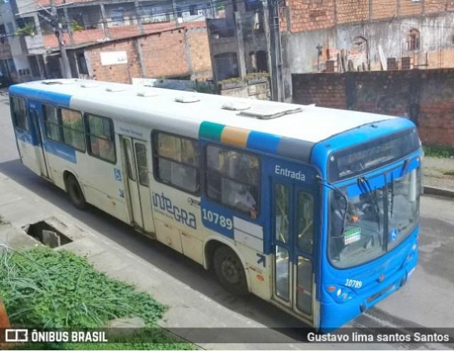 Dupla assalta ônibus da CSN em Salvador nesta sexta-feira - revistadoonibus