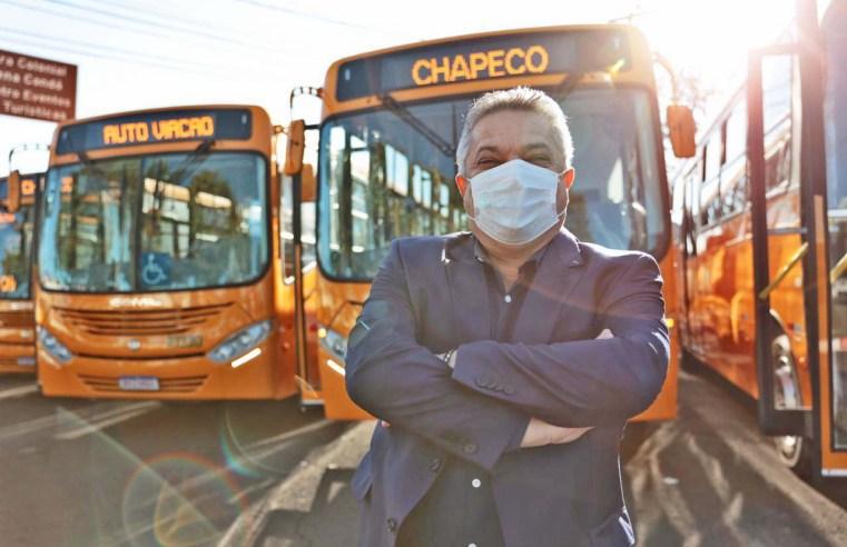 SC: Chapecó renova frota com 25 novos ônibus urbanos, diz prefeitura