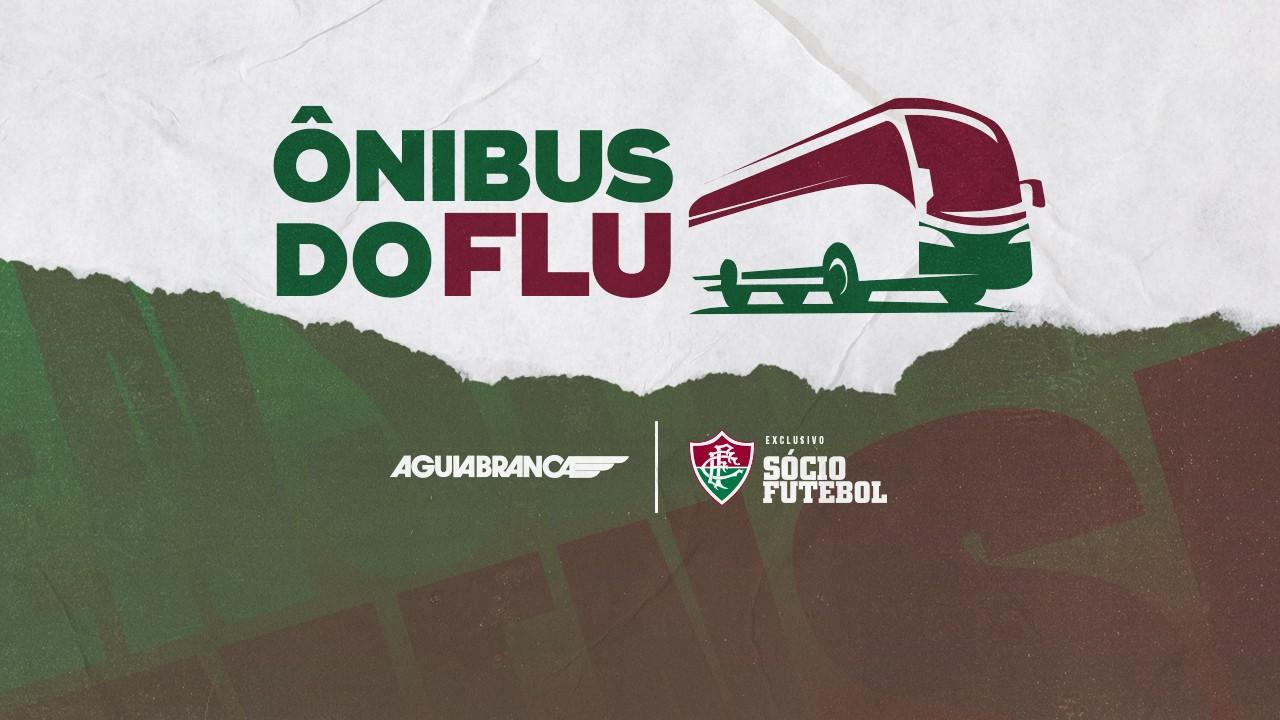 Fluminense abre votação para adesivar ônibus da Viação Aguia Branca
