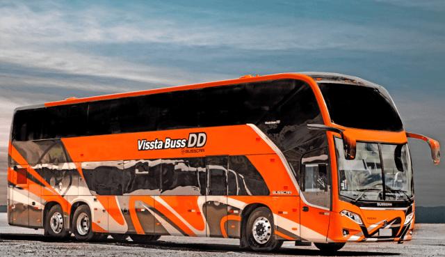 Busscar anuncia certificação internacional UN-R66 para o Vissta Buss DD e Vissta Buss 400 - revistadoonibus