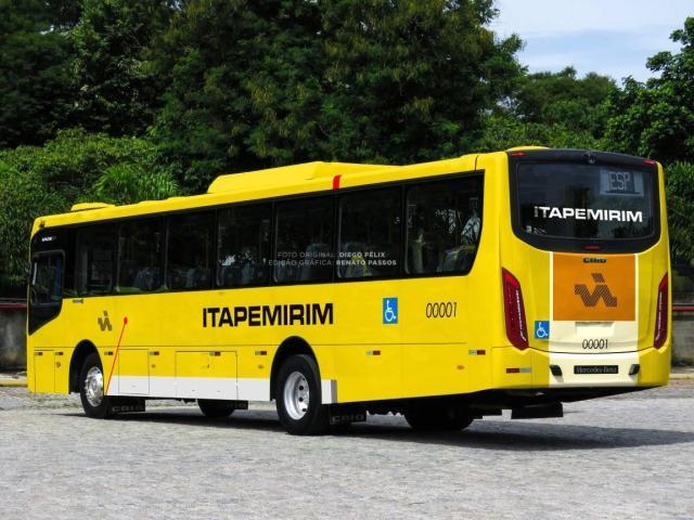 Viação Itapemirim urbana surge com imagens na internet - revistadoonibus