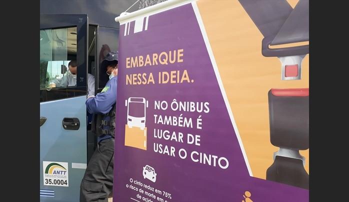 RJ: ANTT e Nova Dutra realizam campanha de conscientização do uso do cinto de segurança