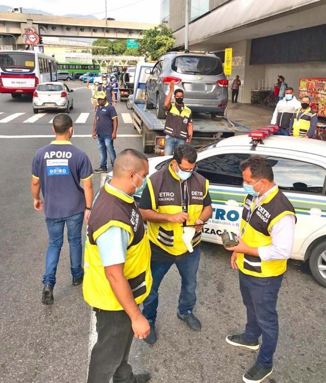 Rio: DETRO realiza operação no entorno da Rodoviária do Rio nesta quarta-feira - revistadoonibus