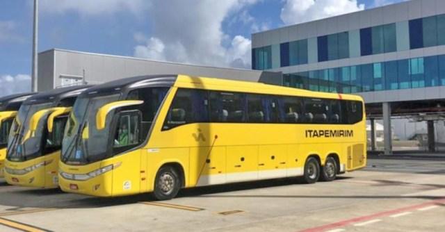 Viação Itapemirim fará translado de passageiros dentro do Aeroporto de Salvador - revistadoonibus