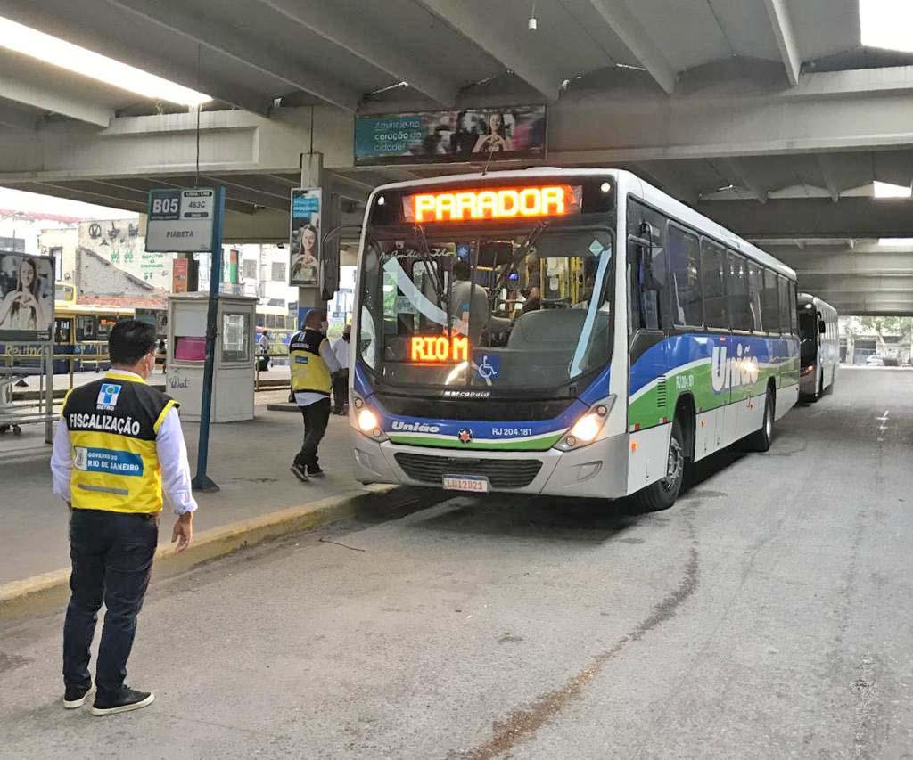 RJ: Fiscalização do DETRO aplicou 115 em ônibus durante o mês de maio