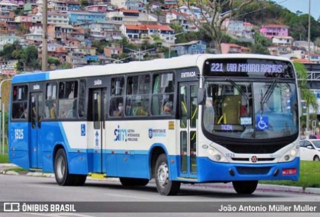Florianópolis: Rodoviários da Canasvieiras Transportes realizam protesto nesta manhã - revistadoonibus