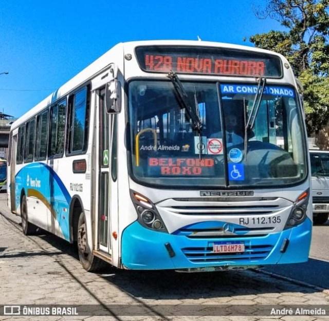 Vídeo: Acidente com ônibus da Vera Cruz deixa passageiros desesperados na Zona Norte do Rio - revistadoonibus