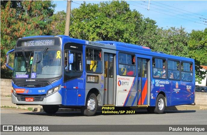 SP: Ônibus da EMTU viaja superlotado entre Campinas e Valinhos