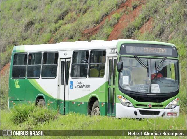 MG: Leopoldina autoriza aumento na tarifa de ônibus que vai de R$ 2,45 para R$ 2,75