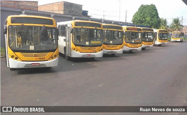 Manaus: Empresas suspendem a circulação de ônibus nesta segunda-feira 7