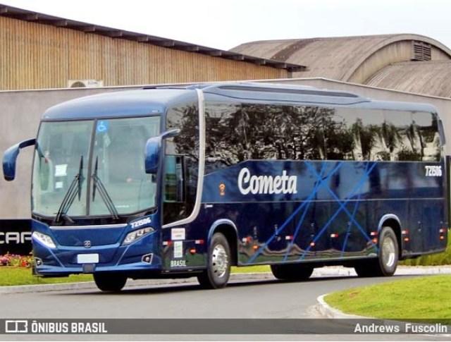 Busscar inicia a entrega de novos ônibus Vissta Buss 360 Scania da Viação Cometa - revistadoonibus