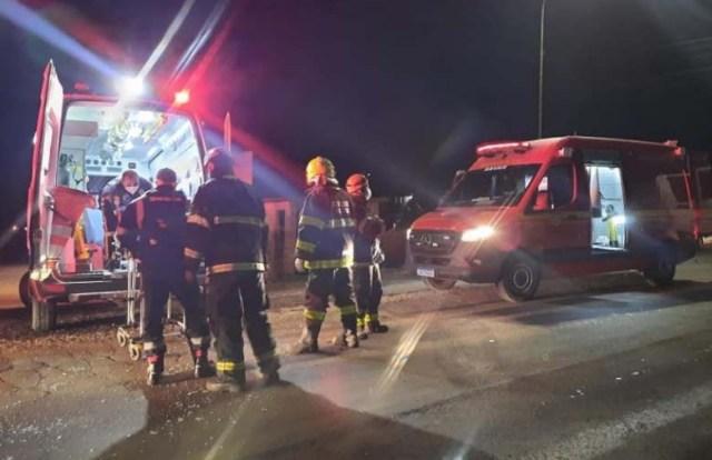 RS: Acidente entre carro e ônibus deixa um ferido na RS-129 no município de Guaporé - revistadoonibus
