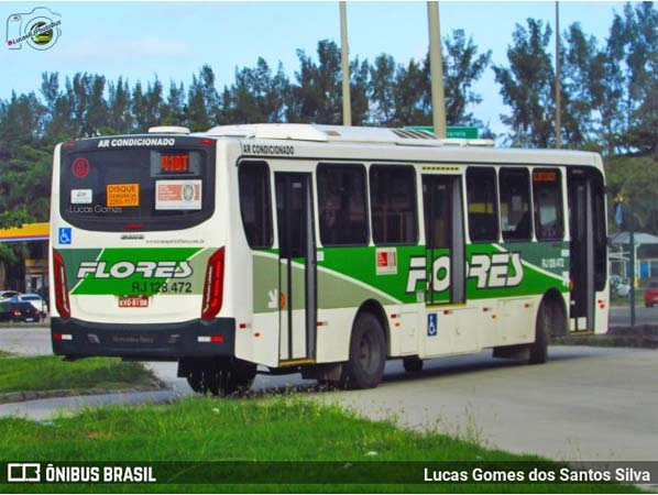 Vídeo: Assalto em ônibus da Transportes Flores deixa um ferido na zona norte do Rio
