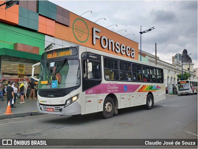 MG: Poços de Caldas terá somente seis linhas de ônibus circulando neste fim de semana