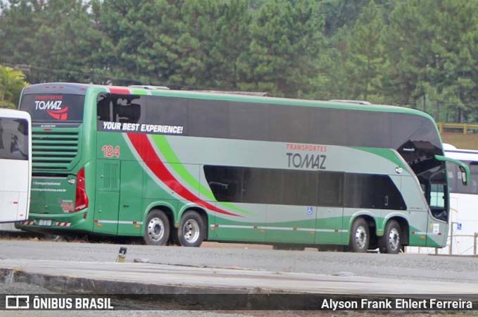 Transportes Tomaz adquire Busscar Vissta Buss DD 8×2 Scania de 15 metros