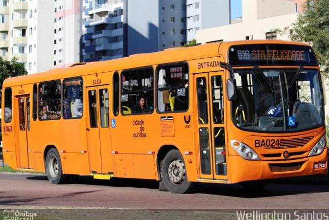 Curitiba: Urbs reforça linha que atende o concurso do CRT4 no próximo domingo